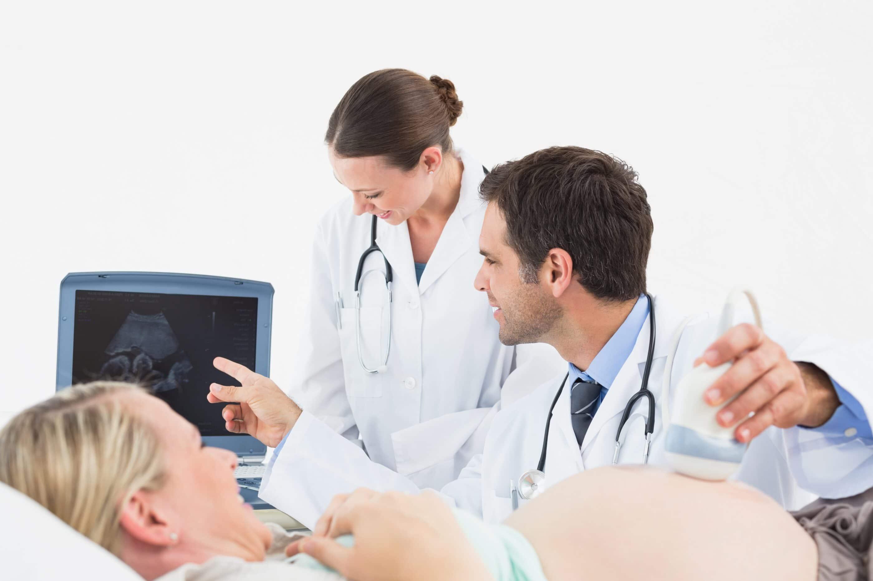 We perform diagnostic ultrasound exams