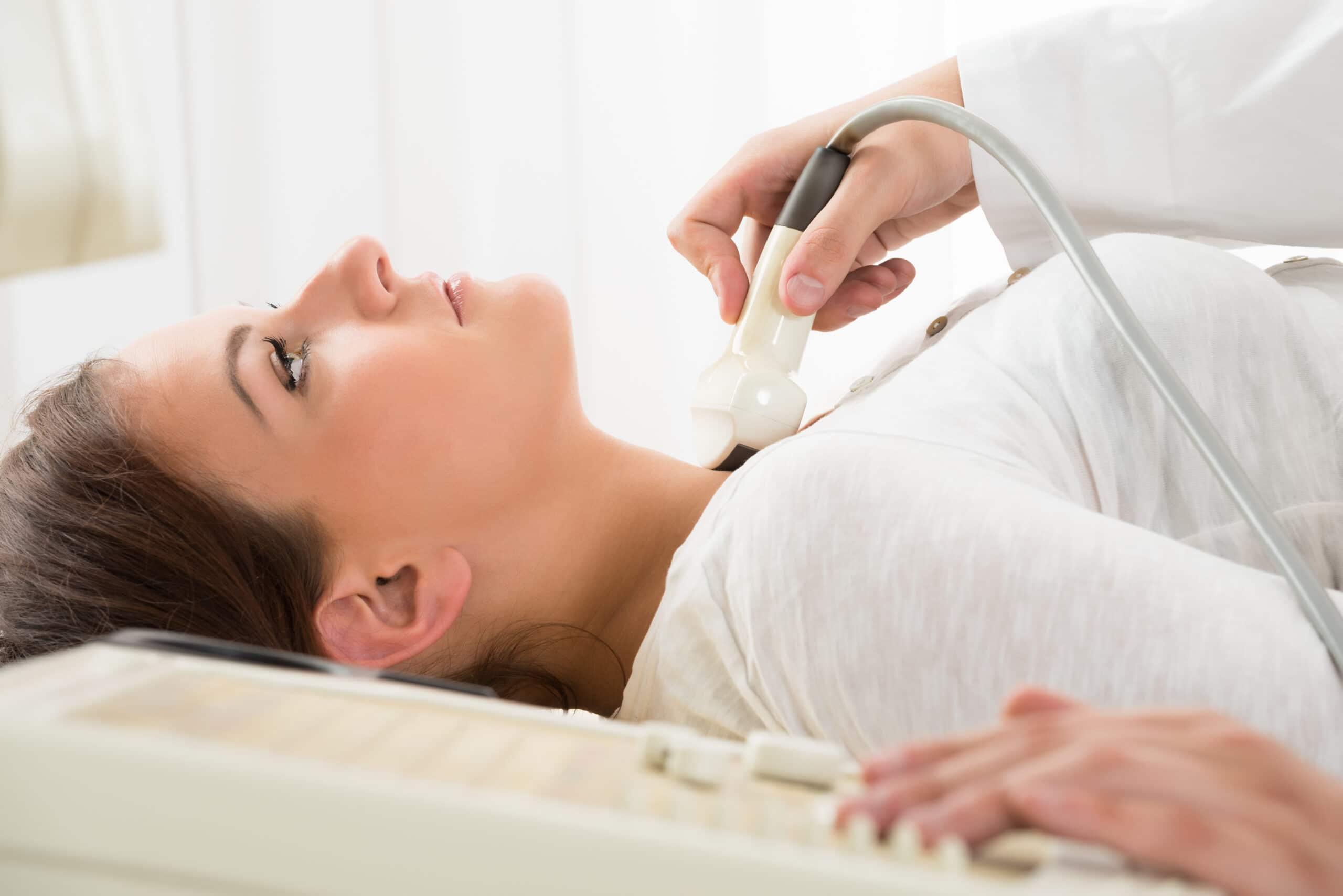 Lymph Node Mapping Ultrasound